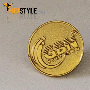 cơ sở sản xuất pin cài áo làm huy hiệu công ty đồng mạ vàng hcm12