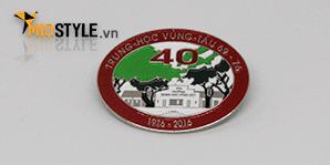 cơ sở sản xuất pin cài áo làm huy hiệu công ty đồng mạ vàng hcm25