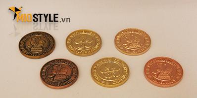 bảng màu mạ kim loại Công ty MioStyle làm quà tặng khách hàng cao cấp tp hcm