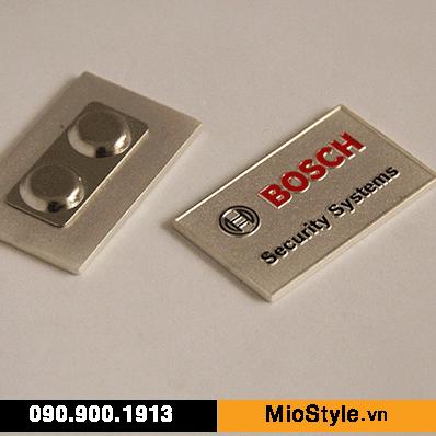 Cơ sở sản xuất huy hiệu ghim cài áo vest đặt làm theo yêu cầu tphcm, huy hiệu cài áo bằng nam châm Bosch
