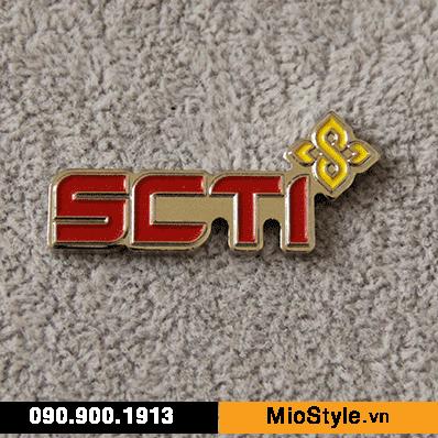 Cơ sở sản xuất huy hiệu ghim cài áo vest đặt làm theo yêu cầu tphcm huy hiệu bất động sản nhà đất bds SCTI