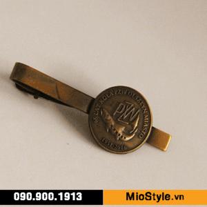 chuyên sản xuất kẹp cà vạt caravat măng sét đặt làm khuy cài tay áo vest cao cấp tphcm mạ vàng cổ