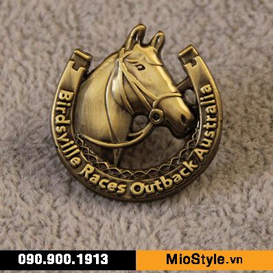 cơ sở sản xuất huy chương vàng đồng thể thao đặt làm kỷ niệm theo yêu cầu tphcm in logo công ty ban tổ chức logo hoạt hình con ngựa 3D đua ngựa