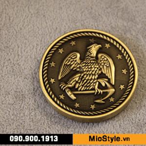 cơ sở sản xuất huy chương vàng đồng thể thao đặt làm kỷ niệm theo yêu cầu tphcm mề đay biểu trưng con đại bàng