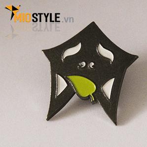cơ sở sản xuất huy hiệu đồng kim loại pin cài áo đẹp ở tp.hcm chibi hoạt hình dễ thương