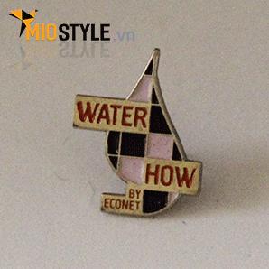 cơ sở sản xuất huy hiệu đồng kim loại pin cài áo đẹp ở tp.hcm con thuyền hoạt hình