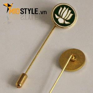 cơ sở sản xuất huy hiệu đồng kim loại pin cài áo đẹp ở tp.hcm hoa sen gia đình phật tử phật giáo việt nam