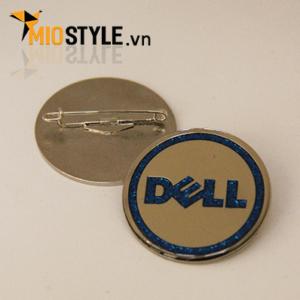 cơ sở sản xuất huy hiệu đồng kim loại pin cài áo đẹp ở tp.hcm sự kiện quảng cáo event doanh nghiệp công ty Dell