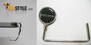 sản xuất móc treo túi xách đa năng làm handbag hook bag hanger in logo công ty theo yêu cầu