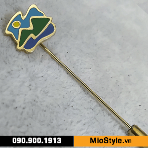 Cơ sở làm Huy Hiệu Kim Loại, Pin Cài Áo, sản xuất logo công ty tp.hcm -