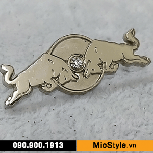 Cơ sở làm Huy Hiệu Kim Loại, Pin Cài Áo, sản xuất logo công ty tp.hcm - huy hiệu cao cấp gắn kim cương