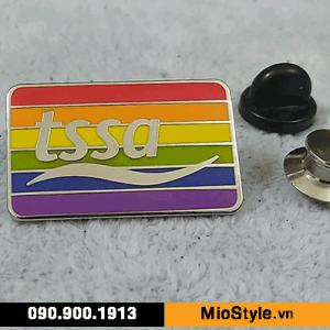 Cơ sở làm Huy Hiệu Kim Loại, Pin Cài Áo, sản xuất logo công ty tp.hcm - tssa