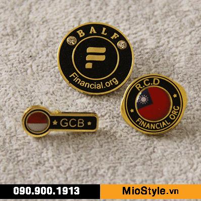 Cơ sở làm Huy Hiệu Kim Loại, Pin Cài Áo, sản xuất logo công ty tp.hcm
