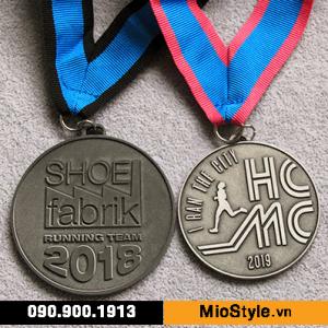 cơ sở làm huy chương vàng, huy chương bạc, làm huy chương đồng theo yêu cầu - giải thưởng maraton hcm shoe fabric 2018