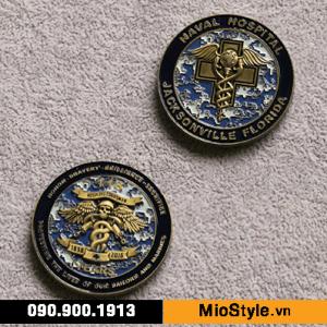 cơ sở sản xuất kỷ niệm chương đặt làm huy chương vàng bạc đồng theo yêu cầu - naval hospital