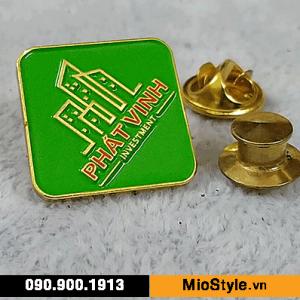 công ty nhận đặt làm huy hiệu cài áo, pin cài áo, logo cài áo tp.hcm - cty bất động sản cty đầu tư phát vinh