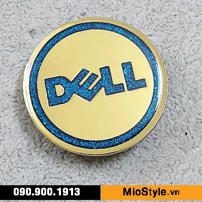 sản xuất huy hiệu cài áo kim tuyến - công ty dell