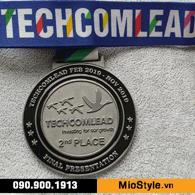 cơ sở sản xuất kỷ niệm chương tphcm công ty đặt làm kỷ niệm chương tphcm, huy chương techcombank techcomlead